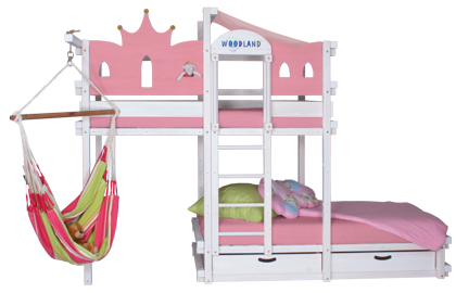 Bunk bed white